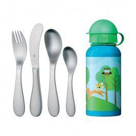WMF Dětský příbor 5dílný s lahví