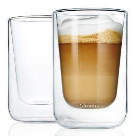 Blomus Set termosklenic na cappuccino 250 ml NERO