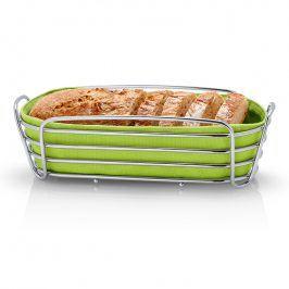 Blomus Ošatka na pečivo oválná zelená DELARA