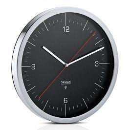 Blomus Nástěnné hodiny řízené rádiovým signálem černé Ø 30,5 cm CRONO