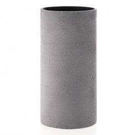 Blomus Váza Coluna velikost M tmavě šedá