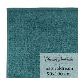 Christian Fischbacher Ručník 50 x 100 cm zelená celadon NaturalDream, Fischbacher