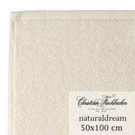 Christian Fischbacher Ručník 50 x 100 cm krémový NaturalDream, Fischbacher