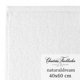 Christian Fischbacher Ručník pro hosty velký 40 x 60 cm bílý NaturalDream, Fischbacher