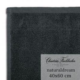 Christian Fischbacher Ručník pro hosty velký 40 x 60 cm cínový NaturalDream, Fischbacher