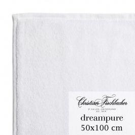 Christian Fischbacher Ručník 50 x 100 cm bílý Dreampure, Fischbacher