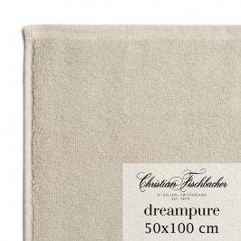 Christian Fischbacher Ručník 50 x 100 cm pískový Dreampure, Fischbacher