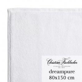 Christian Fischbacher Osuška 80 x 150 cm bílá Dreampure, Fischbacher