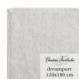 Christian Fischbacher Osuška velká 120 x 180 cm stříbrná Dreampure, Fischbacher