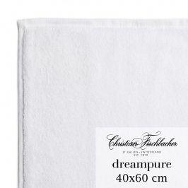 Christian Fischbacher Ručník pro hosty velký 40 x 60 cm bílý Dreampure, Fischbacher