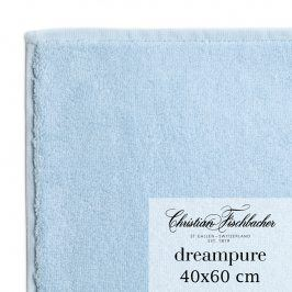 Christian Fischbacher Ručník pro hosty velký 40 x 60 cm nebesky modrý Dreampure, Fischbacher