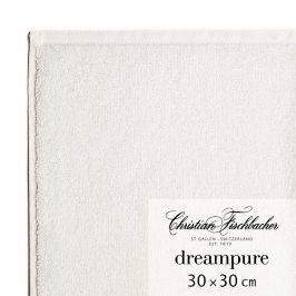 Christian Fischbacher Ručník na ruce/obličej 30 x 30 cm křídový Dreampure, Fischbacher