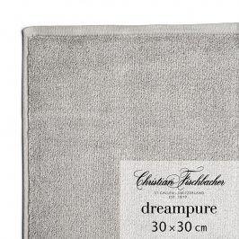 Christian Fischbacher Ručník na ruce/obličej 30 x 30 cm grafitový Dreampure, Fischbacher