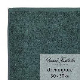 Christian Fischbacher Ručník na ruce/obličej 30 x 30 cm smaragdový Dreampure, Fischbacher