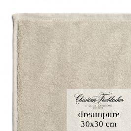 Christian Fischbacher Ručník na ruce/obličej 30 x 30 cm pískový Dreampure, Fischbacher