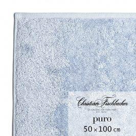 Christian Fischbacher Ručník 50 x 100 cm světle modrý Puro, Fischbacher