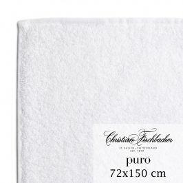 Christian Fischbacher Osuška 72 x 150 cm bílá Puro, Fischbacher