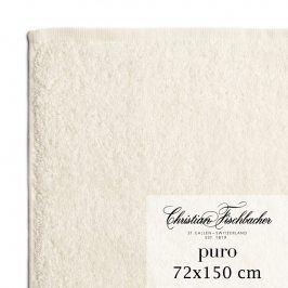 Christian Fischbacher Osuška 72 x 150 cm perlově bílá Puro, Fischbacher