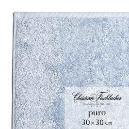 Christian Fischbacher Ručník na ruce/obličej 30 x 30 cm světle modrý Puro, Fischbacher
