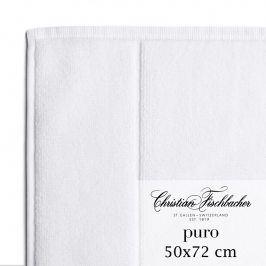 Christian Fischbacher Koupelnová předložka 50 x 72 cm bílá Puro, Fischbacher