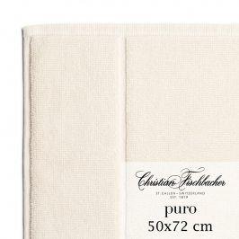 Christian Fischbacher Koupelnová předložka 50 x 72 cm perlově bílá Puro, Fischbacher