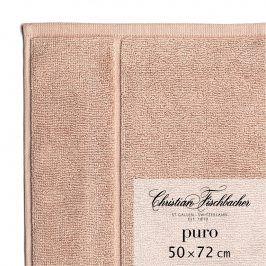 Christian Fischbacher Koupelnová předložka 50 x 72 cm růžovobéžová Puro, Fischbacher