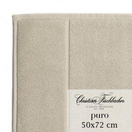 Christian Fischbacher Koupelnová předložka 50 x 72 cm písková Puro, Fischbacher