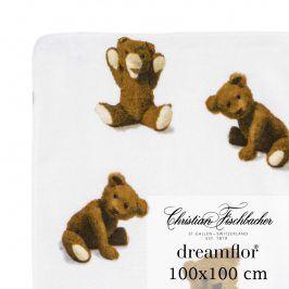 Christian Fischbacher Ručník 100 x 100 cm Medvídek Dreamflor®, Fischbacher
