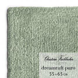 Christian Fischbacher Koupelnový kobereček 55 x 65 cm zelenošedý Dreamtuft Puro, Fischbacher