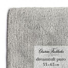 Christian Fischbacher Koupelnový kobereček 55 x 65 cm grafitový Dreamtuft Puro, Fischbacher