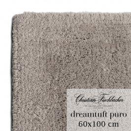 Christian Fischbacher Koupelnový kobereček 60 x 100 cm béžovošedý Dreamtuft Puro, Fischbacher