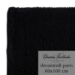 Christian Fischbacher Koupelnový kobereček 60 x 100 cm černý Dreamtuft Puro, Fischbacher