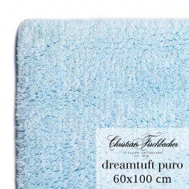 Christian Fischbacher Koupelnový kobereček 60 x 100 cm nebesky modrý Dreamtuft Puro, Fischbacher