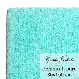 Christian Fischbacher Koupelnový kobereček 60 x 100 cm tyrkysový Dreamtuft Puro, Fischbacher