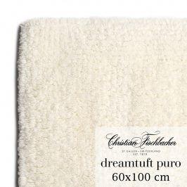 Christian Fischbacher Koupelnový kobereček 60 x 100 cm krémový Dreamtuft Puro, Fischbacher