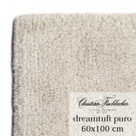 Christian Fischbacher Koupelnový kobereček 60 x 100 cm pískový Dreamtuft Puro, Fischbacher