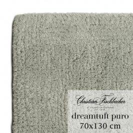 Christian Fischbacher Koupelnový kobereček 70 x 130 cm šedý Dreamtuft Puro, Fischbacher