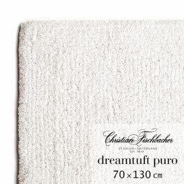 Christian Fischbacher Koupelnový kobereček 70 x 130 cm křídový Dreamtuft Puro, Fischbacher