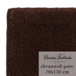 Christian Fischbacher Koupelnový kobereček 70 x 130 cm mokka Dreamtuft Puro, Fischbacher