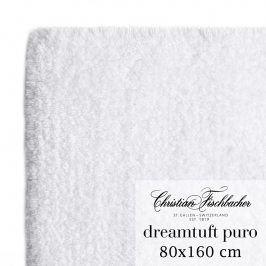 Christian Fischbacher Koupelnový kobereček 80 x 160 cm bílý Dreamtuft Puro, Fischbacher