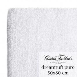 Christian Fischbacher Koupelnový kobereček 50 x 80 cm bílý Dreamtuft Puro, Fischbacher