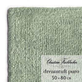 Christian Fischbacher Koupelnový kobereček 50 x 80 cm zelenošedý Dreamtuft Puro, Fischbacher