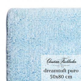 Christian Fischbacher Koupelnový kobereček 50 x 80 cm nebesky modrý Dreamtuft Puro, Fischbacher