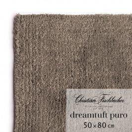 Christian Fischbacher Koupelnový kobereček 50 x 80 cm hnědošedý Dreamtuft Puro, Fischbacher