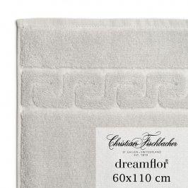 Christian Fischbacher Ručník velký 60 x 110 cm stříbrný Dreamflor®, Fischbacher