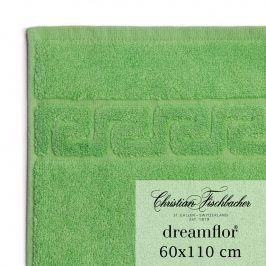 Christian Fischbacher Ručník velký 60 x 110 cm zelený Dreamflor®, Fischbacher