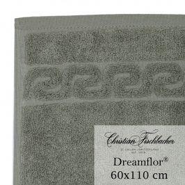 Christian Fischbacher Ručník velký 60 x 110 cm šedozelený Dreamflor®, Fischbacher
