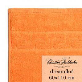 Christian Fischbacher Ručník velký 60 x 110 cm oranžový Dreamflor®, Fischbacher