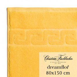 Christian Fischbacher Osuška 80 x 150 cm žlutá Dreamflor®, Fischbacher