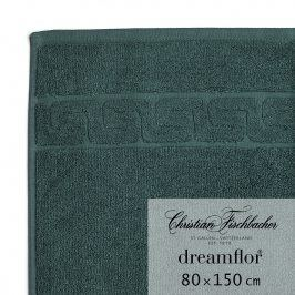 Christian Fischbacher Osuška 80 x 150 cm smaragdová Dreamflor®, Fischbacher